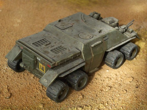1:72 APC (Armored Personnel Carrier) - Scratch-built/kit conversion