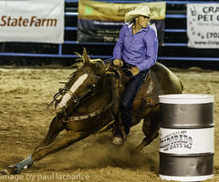 barrel racer (plachance) Tags: horse sport cowboy action competition rodeo cowgirl rider racer barrelrace canonef70200f28lis