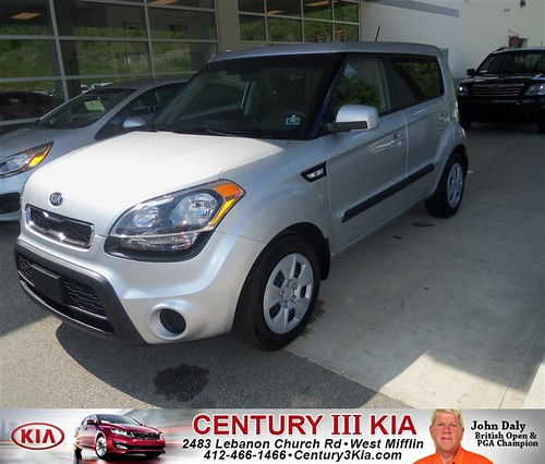Century 3 Kia would like to say Congratulations to Richard Clark on the 2013 Kia Soul