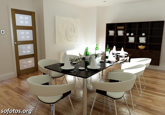 Salas de jantar decoradas (166)