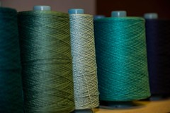903058_446375285454516_1708784587_o (Crookedbear) Tags: color art texture wool thread composition silk yarn weaving theweavingworks danburbank crookedbear