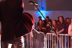 Playing to the Crowd (DaveMcKFlit) Tags: new music centre bedfordshire rufus flitwick