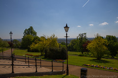 Alexandra Palace Park (SarahO44) Tags: park uk london skyline ally view terrace south united north steps kingdom palace peoples alexandra wharf canary shard pally
