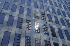 Highrise Reflection (insomaniac117) Tags: city providence rhodeisland