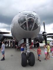 CAF Airpower Tour; June, 2013 (atarsitano) Tags: ohio june cincinnati fifi caf airpower airfield b29 superfortress 2013 lunkin