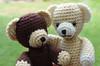 Felix und Flo... (Lenekie) Tags: bear crochet amigurumi tedy bär teddybär