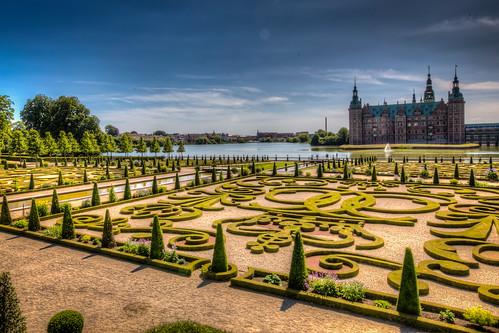 Frederiksborg Castle and Garden, Hillerød, Denmark