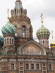 Church of the Spilled Blood, St Petersburg (ChihPing) Tags: travel church stpetersburg blood russia petersburg olympus spilled omd     em5