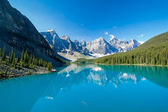 Lake Moraine (Megan C Johnston) Tags: canada nature landscape alberta banff banffnationalpark lakemoraine