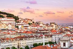 Lovely Lisboa (Patberg) Tags: city sunset summer portugal evening lisbon beautifulsky
