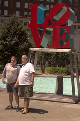 Love in the Afternoon Mondau, July 29, 2013 (bruhinb) Tags: portrait usa art love philadelphia fashion by published afternoon pa lovepark jfkplaza lovestatue mantiuk08 publishedbyloveintheafternoon
