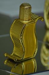 Gold! (Patrizia Henderson Photography) Tags: mist gold perfume oil ornate oriental aromatic coloured scent attar