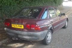 Ford Escort (occama) Tags: old uk ford car duct rust cornwall retro tape 1997 1998 escort tatty gaffa p275pmr