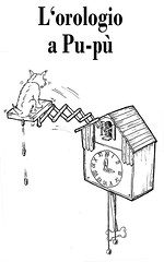 L'orologio a Pu-pù (luc@rck) Tags: dog white ink drawing charlie westy doggie disegno arianova