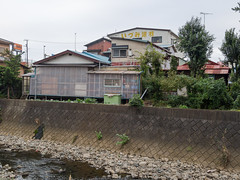 Riverside (kasa51) Tags: building japan lumix riverside olympus panasonic kanagawa omd 1445mm kozu f3556 em5