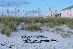 OneLove (AshLMD) Tags: sky seaweed love beach clouds sand afternoon florida