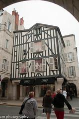 Fachwerkhaus, La Rochelle France (corinna1411) Tags: france architecture nikon frankreich downtown cities architektur larochelle städte innenstadt fachwerk charentemaritime nikond300
