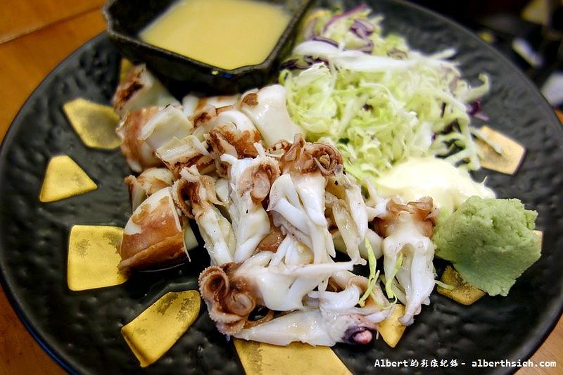 台北中山.小六食堂:宜蘭針花枝