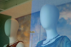 Anonymity (harrysnowden) Tags: street city light urban window glass oregon digital canon glare storefront dslr canondslr storefrontreflection canonxti originalphotographers