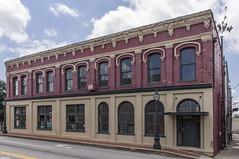 Main Street (jwcjr) Tags: lamppost barnesvillega southernarchitecture barnesvillegeorgia smalltownga bwbarnesville
