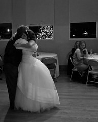 Her father (therealjoeo) Tags: wedding blackandwhite bedford dance dad texas father newyear