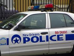New Orleans PD_0028 (pluto665) Tags: car police cop squad cruiser interceptor copcar p71 cvpi