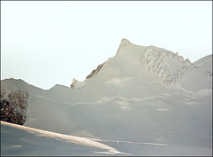 Backlit Mont Blanc (Katarina 2353) Tags: winter white mountain snow ski france alps chamonix katarinastefanovic katarina2353