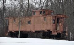Creston, Ohio (Bob McGilvray Jr.) Tags: railroad train private tracks caboose ble eje crestonohio