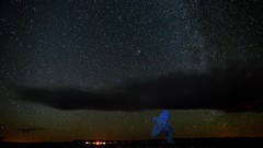 VLATimelapse1080_8sec (nnitzky) Tags: timelapse video andromeda astrophotography milkyway