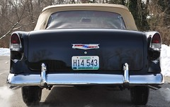 """1955 Chevy Bel-Air Convertible • <a style=""""font-size:0.8em;"""" href=""""http://www.flickr.com/photos/85572005@N00/12443695854/"""" target=""""_blank"""">View on Flickr</a>"""