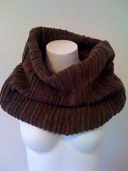 Knit Barn Owl Cowl (bluespecsstudio|etsy) Tags: scarf knitting infinity knit wrap shawl etsy chunky cowl bluespecsstudio