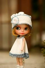 Blythe beads hat