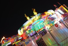 (christophermcguirk_photography) Tags: carnival light reflection colors night painting evening colorful long exposure state florida statefair fair led nighttime rides streaks amusements thrill blend thrillrides lightblending