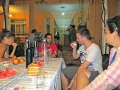 Diner bij Florians Guesthouse