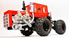 - updated version (hajdekr) Tags: tractor toy traktor lego technic massive soviet vehicle  vlec hraka stavebnice