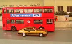 Advertising for the competition (kingsway john) Tags: modl diorama scale 176 bus garage kingsway models north street london transport romford diecast londontransportmodel model oo gauge miniature