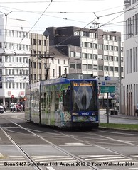 Bonn 9467 Stadthaus (TonyW1960) Tags: bonn tram stadthaus strassenbahn electrico bonde streetcar tranvía трамвай spårvagn trikk トラム 电车 חשמלית ترام tranvia