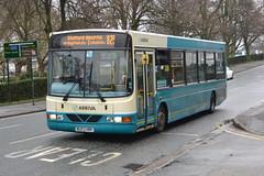 Arriva DAF SB120 2736.BU03HRK - Stafford (dwb transport photos) Tags: bus wright cadet stafford daf arriva 2736 bu03hrk