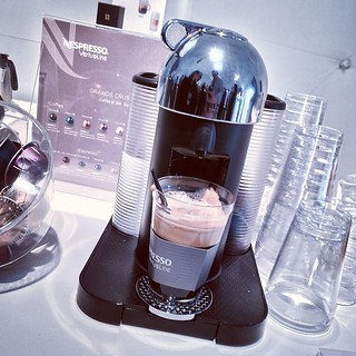 A new coffee system from #Nespresso #Vertuolin...