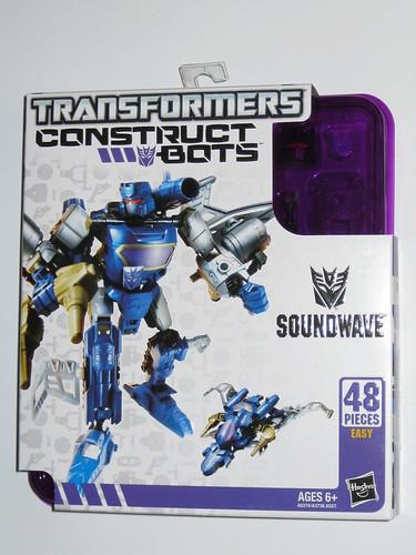 STARSCREAM Transformers Construct Bots Scout Class E1:02 40 Pieces Hasbro New