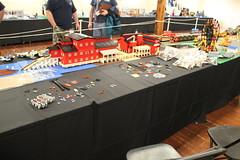 75059 Sandcrawler team build (5) (The Brothers Brick) Tags: starwars lego ucs sandcrawler tbb brickcon sealug 75059 archlug squatchlug