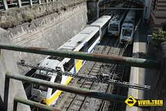 Estacin tren Concordia (vivireltren) Tags: tren bilbao concordia feve