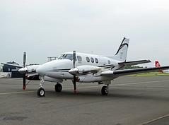 M-OTOR Beechcraft 90 King Air (SteveDHall) Tags: king air motor beechcraft beech retford kingair gamston beech90 be9l gamstonairport be90 beechcraft90 beechcraft90kingair