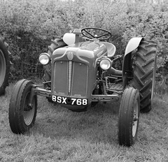 BSX 768 Fordson Dexta tractor. (IMG_1223) (Robert G Henderson (Romari).) Tags: life tractor rural scotland may nms eastkilbride 2014 lanarkshire dexta firdson