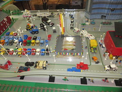 MOAH Winter Show 2014-2015 (137) (Last pass) (origamiguy1971) Tags: layout town lego mosaic spiderman trains superman batman palo alto ghostbusters moc walle moah baylug esseltine origamiguy origamiguy1971