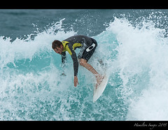 Pipeline Surfer (Hamilton Images) Tags: beach canon hawaii surf waves oahu famous january surfing northshore surfers 500mm banzaipipeline ehukaibeachpark 2015 14xteleconverter img0781 7dmarkii