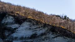Lungo la strada che costeggia il Torrente Samoggia - Gennaio 2015 (Massimo Saviotti) Tags: winter panorama landscape landscapes flickr hill hills vista inverno paesaggi paesaggio colline collina sightseen