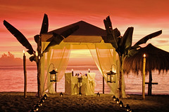 Beach 17 (saintluciatourism) Tags: sunset beach scenic romanticdinner