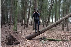 photoshop editing (owenevans79) Tags: art strange woodland photography mirror cool illusion faceless