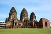 East Pra Prang Sam Yod (suwapitch13) Tags: castle archaeology architecture buildings thailand ancient ruins touristattraction lopburi laterite ancientremains ancienttimes praprangsamyod buddhistplace khmercastle